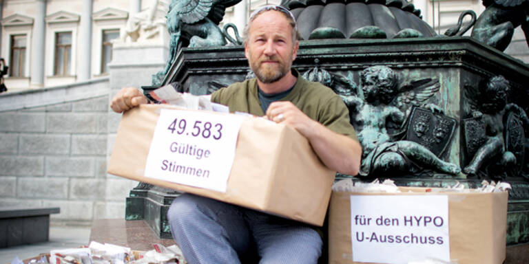 Düringers Hypo- Show im Parlament