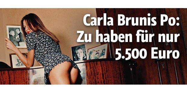 Carla Brunis Popo kommt unter den Hammer