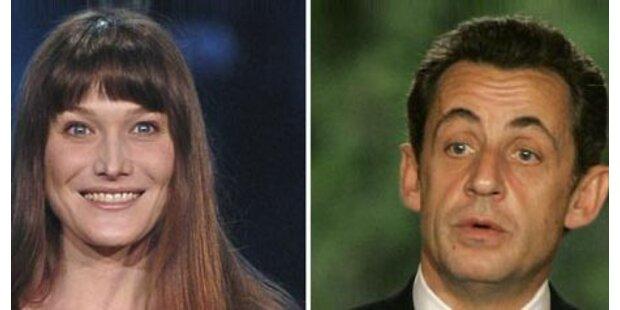Sarkozy mit Bruni in Ägypten