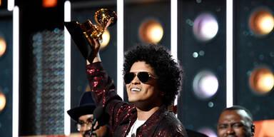 Bruno Mars räumt 6 Awards ab