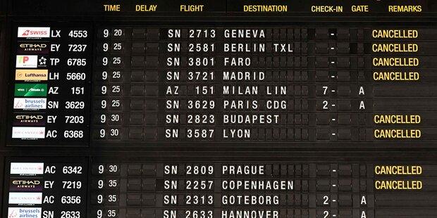 Wien-Flüge wegen Streiks gestrichen