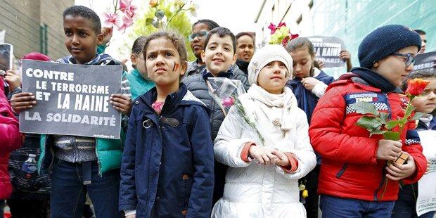 Brüssel: Tausende bei Marsch gegen Terror
