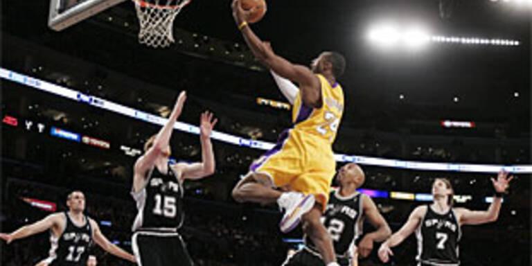 Bryant bei Lakers-Sieg überragend