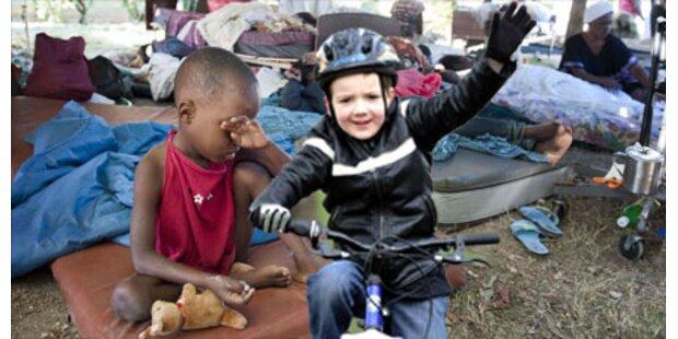 7-Jähriger sammelt 57.000 Euro für Haiti