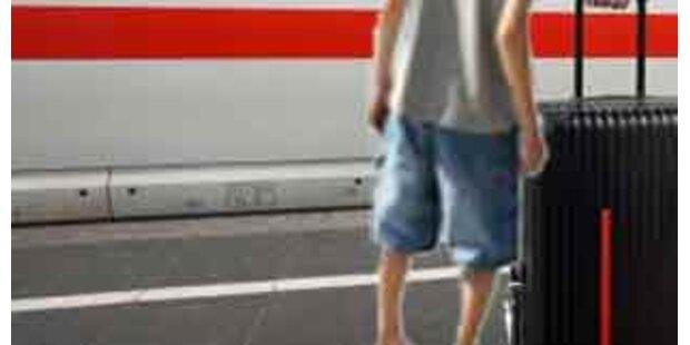 Viereinhalbjähriger Ausreißer mit Zug unterwegs