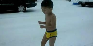 Kids nackt junge Ten