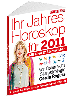 Gerda Rogers Jahres Horoskop Buch 2011