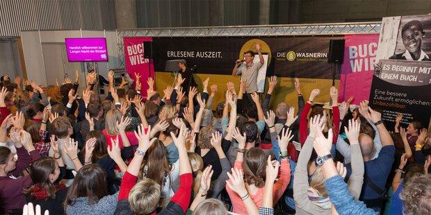 Buch Wien endet mit Besucherrekord