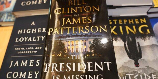Bill Clinton legt Polit-Thriller vor