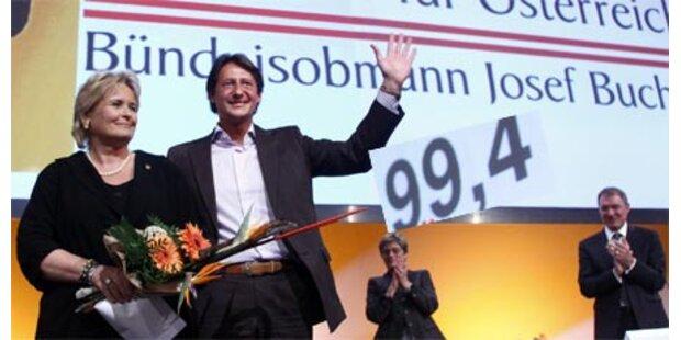 Bucher mit 99,4 Prozent neuer BZÖ-Chef
