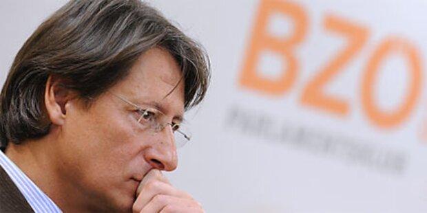 BZÖ-Bucher wählt