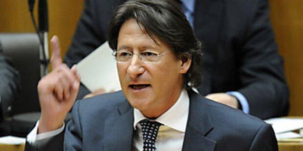 Bucher bittet ÖVP um Kandidat