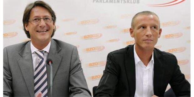 BZÖ-Parteispitze demonstriert Einigkeit