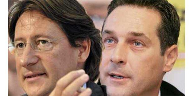 BZÖ und FPÖ verschärfen Kritik an Koalition