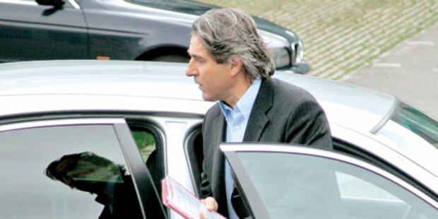 Buchinger: Crash im Dienst-BMW