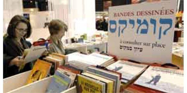 Pariser Buchmesse mit Gastland Israel evakuiert
