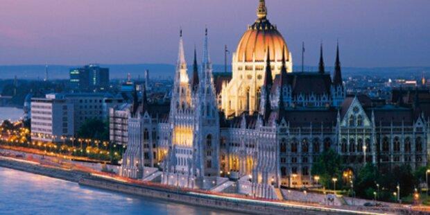 Luxuriöse Nächte in Budapest