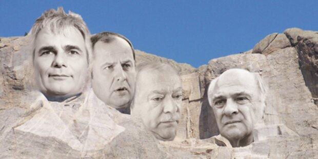 Diese Vier meißeln das Budget in Stein