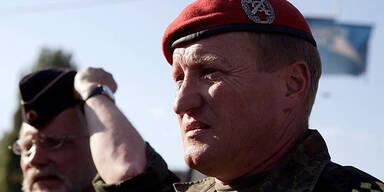 KFOR Major General Erhard Buehler