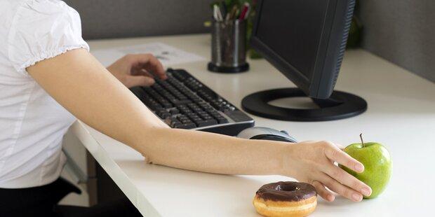 Diese 5 Büro-Snacks verhindern das Abnehmen