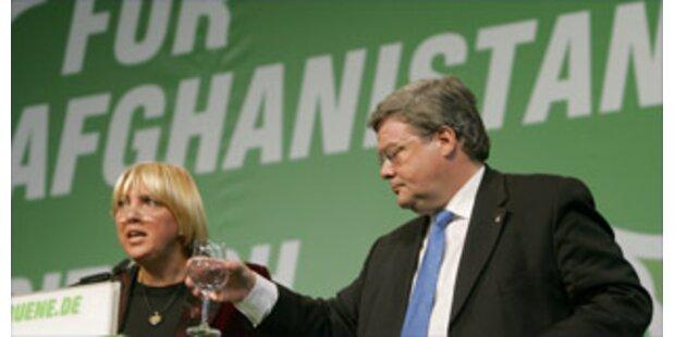Blamage für Grünen-Spitze auf Parteitag