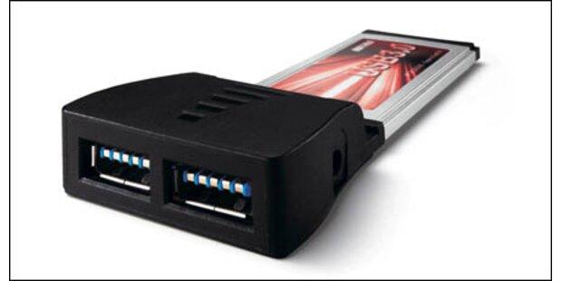 So wird jedes Notebook USB 3.0 tauglich