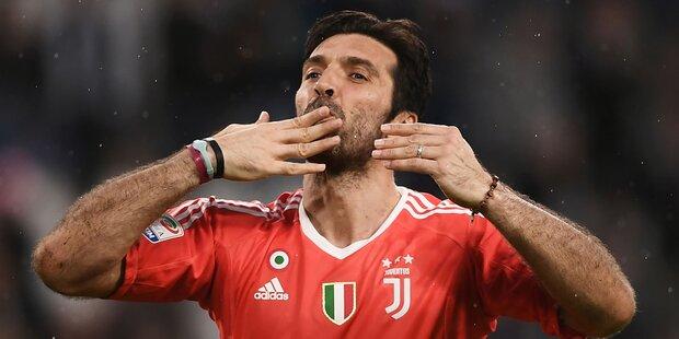 Buffon sagt Ciao zu Juve