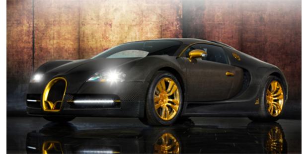 Bugatti Veyron Linea Vinceró d´Oro