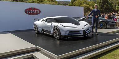 Neuer Bugatti Centodieci leistet 1.600 PS