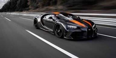Bugatti schafft neuen Geschwindigkeitsrekord