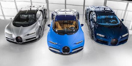 Bugatti zieht reiche Autofans magisch an