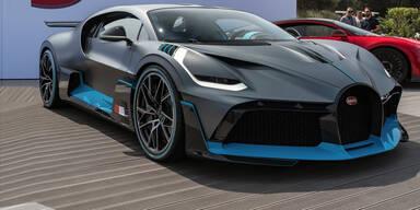 Bugatti greift mit dem neuen Divo an