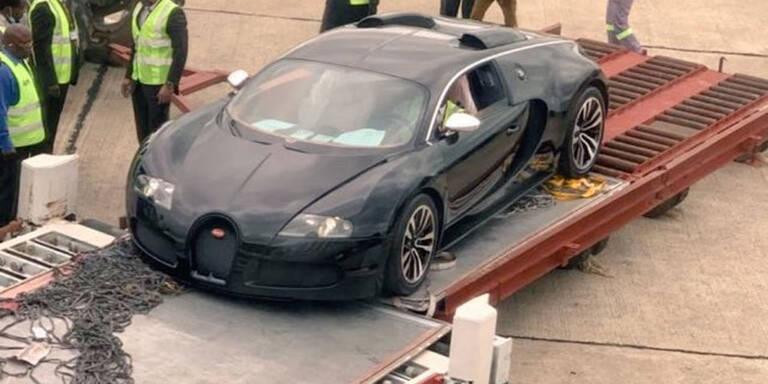 2-Mio.-Euro-Bugatti droht die Schrottpresse