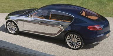 Hier kommt der Sportback von Bugatti