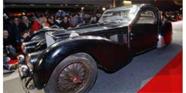 Historischer Bugatti für 3,4 Mio Euro versteigert