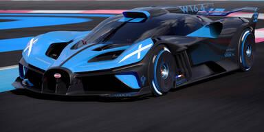 """Bugatti """"Bolide"""": 1.850 PS und über 500 km/h Spitze"""