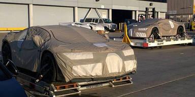 Fotos zeigen neuen Bugatti mit 1.500 PS