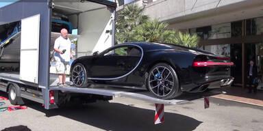 Der teuerste Auto-Transport der Welt?