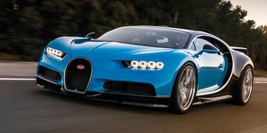 Bugatti stellt den Chiron mit 1.500 PS vor