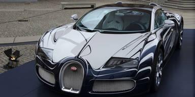 """Bugatti Veyron """"L'Or Blanc"""" zum Abschied"""