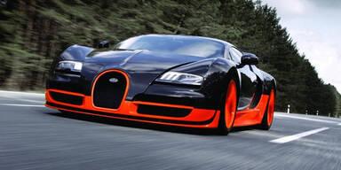 Super-Bugatti hängt Formel 1-Boliden ab