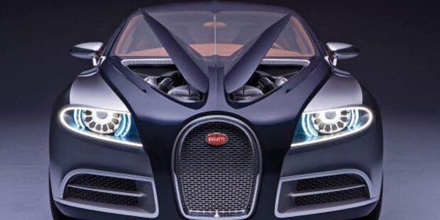 Bugatti Galibier 16 C wird gebaut