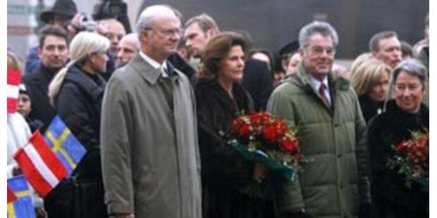 Schwedisches Königspaar zu Besuch in Eisenstadt