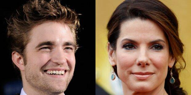 Bullock und Pattinson überreichen Preise