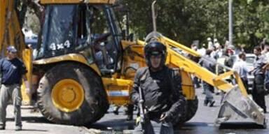 Bulldozer-Anschlag vor Obamas Hotel in Israel