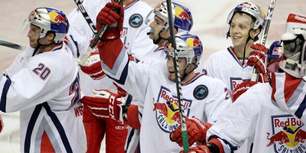Salzburger Eishockeybullen heiß auf den Sieg