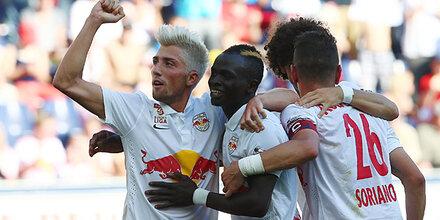 Red Bull gegen den SC Wiener Neustadt