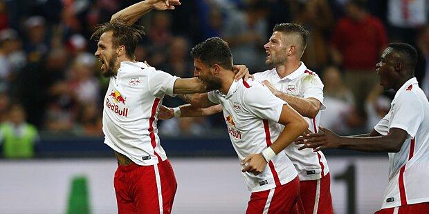 5:0 Sieg für den FC Red Bull Salzburg