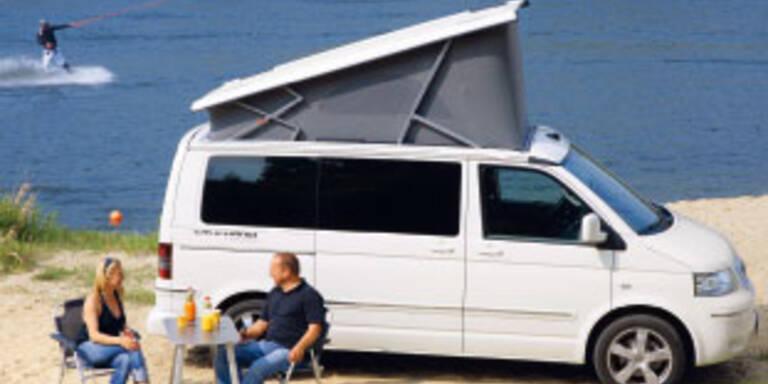 VW bringt drei neue California-Modelle
