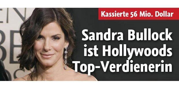 Bullock ist Hollywoods Topverdienerin